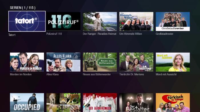 Den Filmreihen der ARD fehlt eine vernünftige Sortierung. (Bild: Ingo Pakalski/Golem.de)