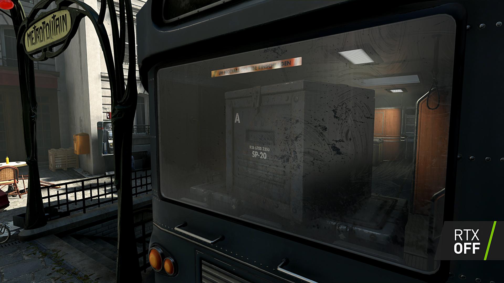 Machine Games: Wolfenstein Youngblood erhält Raytracing - Wolfenstein Youngblood ohne Raytracing (Bild: Nvidia)
