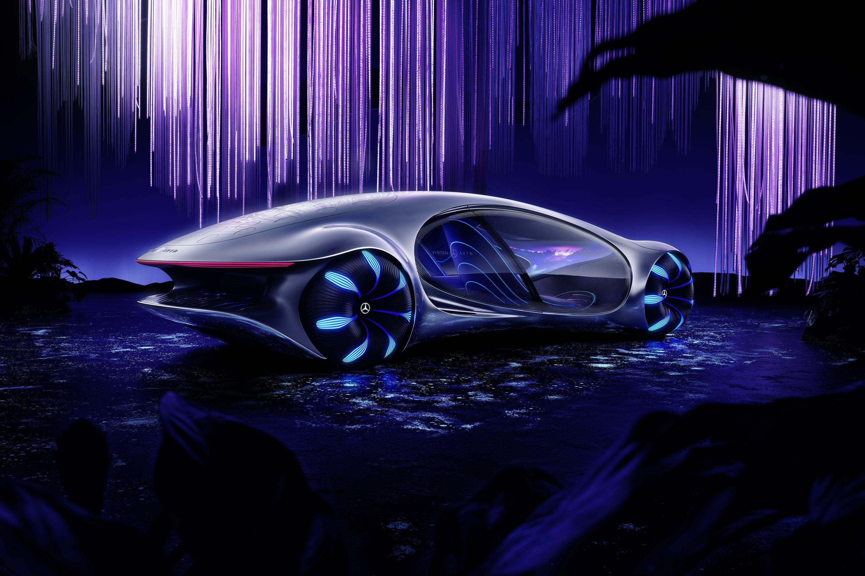 Elektroauto: Fahren mit einem Banshee - Es soll intuitiv bedienbar sein. (Bild: Daimler)