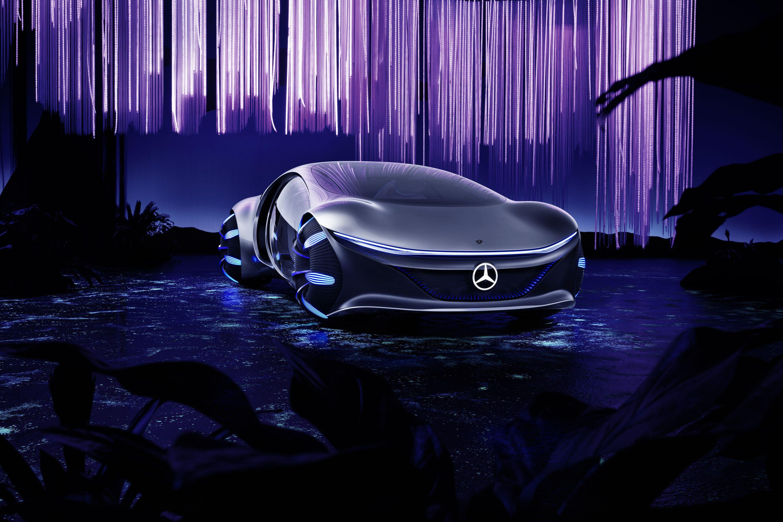 Elektroauto: Fahren mit einem Banshee - In dem Fahrzeug sind viele Recycling-Materialien verbaut. Der Akku basiert auf organischen Stoffen. (Bild: Daimler)