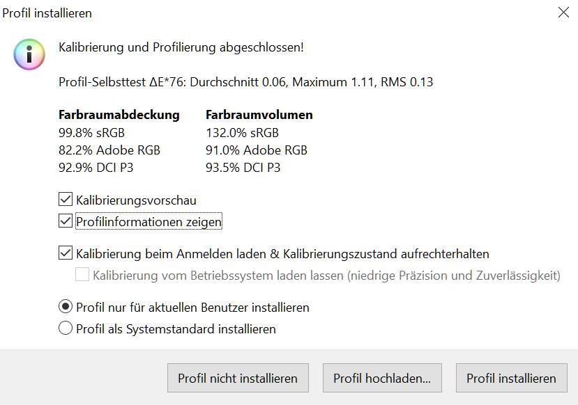 Asus PG43UQ im Test: Haben Sie es auch eine Nummer größer? - Farbraumumfang und Delta-E (Bild: Martin Wolf/Golem.de)