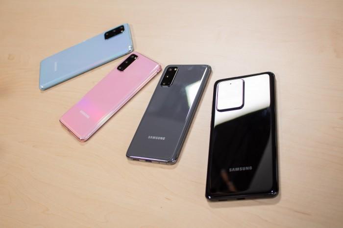 Samsung hat drei neue Smartphone-Modelle vorgestellt: das Galaxy S20, das Galaxy S20+ und das Galaxy S20 Ultra. (Bild: Martin Wolf/Golem.de)