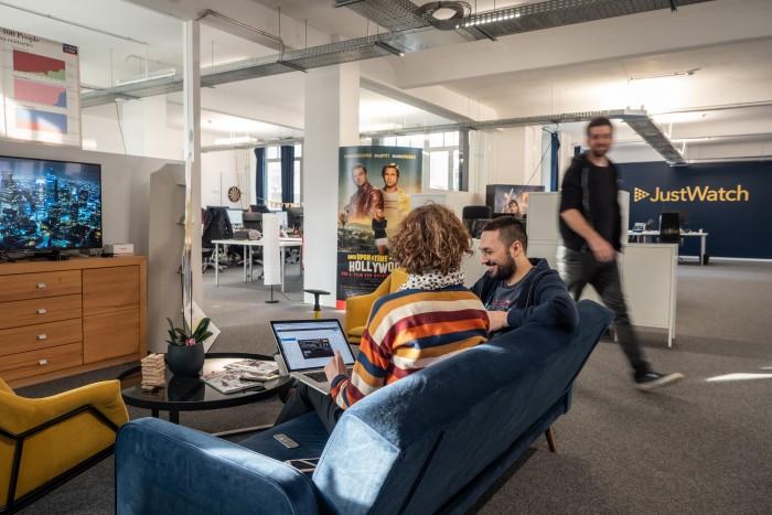 Ein Blick in das Justwatch-Büro in Berlin(Bild: Martin Wolf/Golem.de)