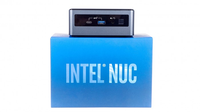 Intels NUC10 alias Frost Canyon (Bild: Marc Sauter/Golem.de)