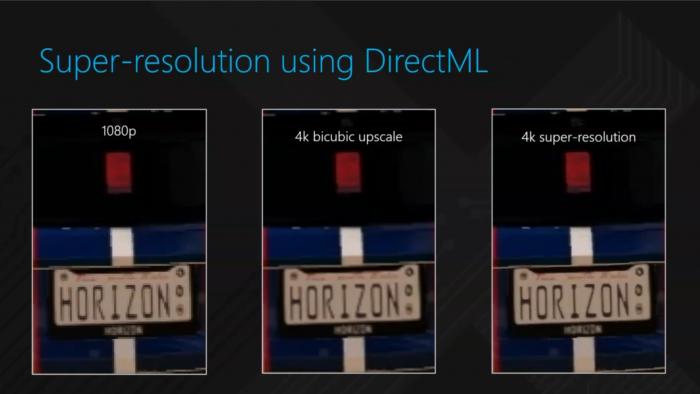 AI-Upscaling mit DirectML in Forza Horizon 3 (Bild: Microsoft)