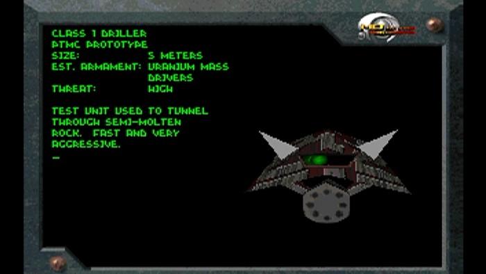 Keiner ist gemeiner: Die Drillers macht Descent zu einem knackig schweren 3D-Actionspiel. (Bild: Parallax Software/Screenshot: Medienagentur plassma)