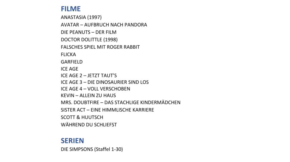 Konkurrenz für Netflix und Prime Video: Disney nennt Filme und Serien für Disney+ in Deutschland - Diese Filme und Serien aus dem Fox-Sortiment wird es bei Disney+ geben - Auswahl. (Bild: Disney)