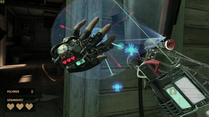 Eines der gelungenen 3D-VR-Rätsel (Bild: Valve/Screenshot: Golem.de)