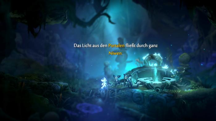 Die Handlung wird in sehr kurzen Zwischensequenzen erzählt. (Bild: Microsoft/Screenshot: Golem.de)