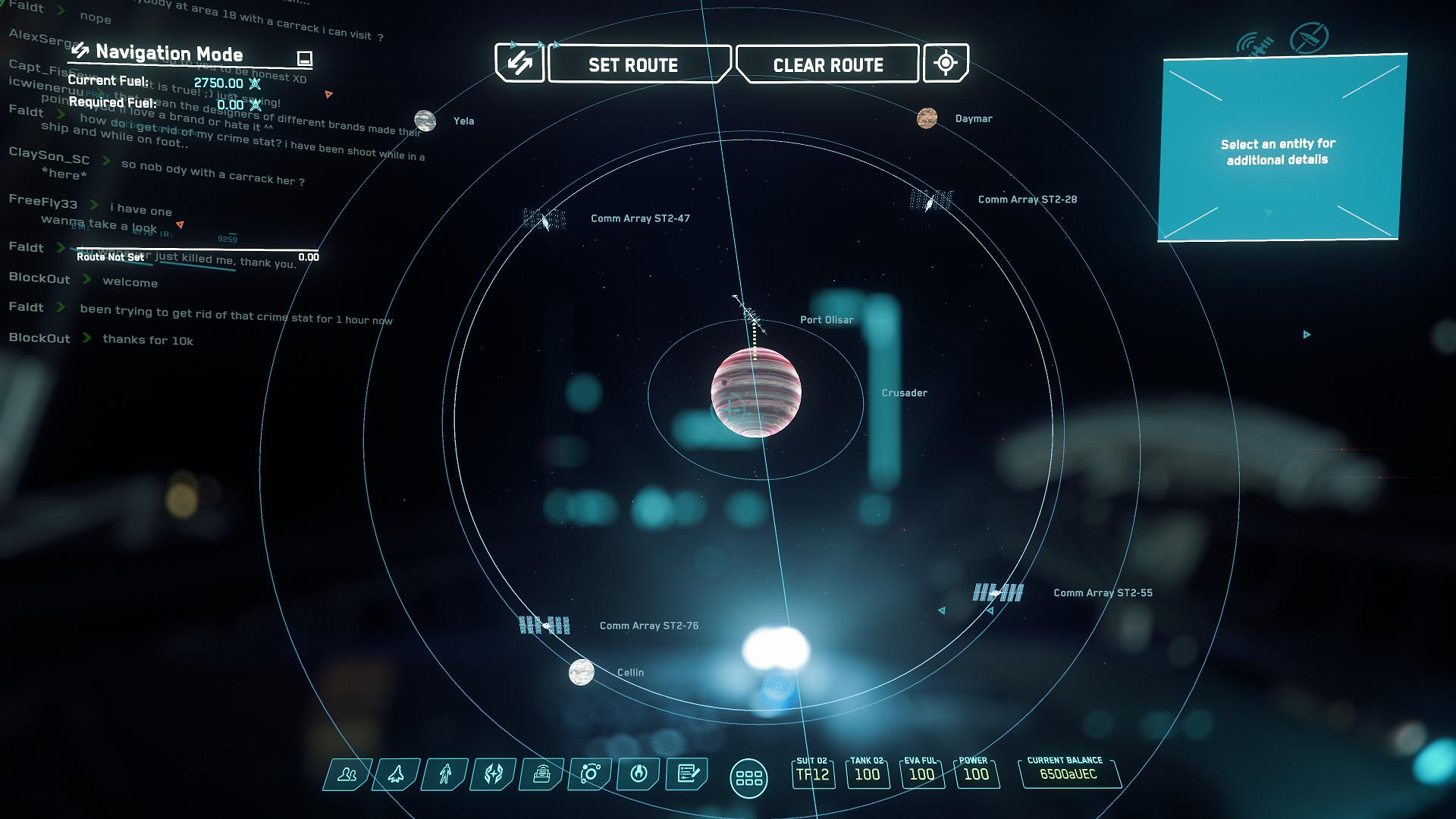 Wo Anfänger starten können: Per Anhalter durch Star Citizen - Port Olisar ist im Orbit eines Gasgiganten. (Bild: CIG/Screenshot: Golem.de)