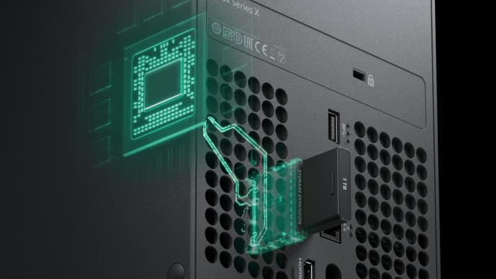Externe SSD der Xbox Series X (Bild: Microsoft)