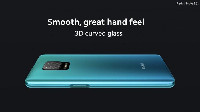 Das Redmi Note 9S hat eine Vierfachkamera auf der Rückseite. (Bild: Xiaomi)
