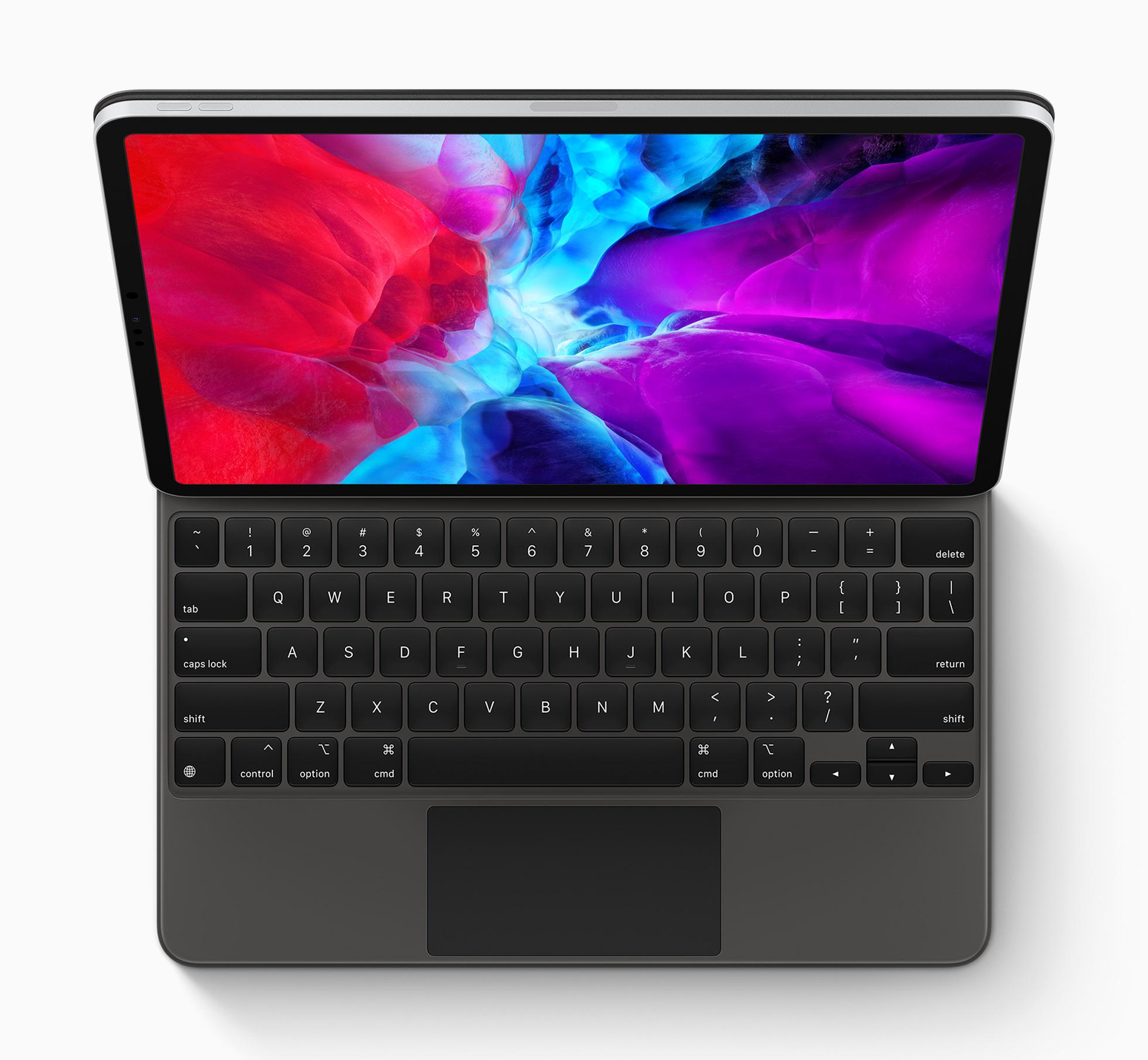 Apple: Neues iPad Pro kommt mit Lidar und cleverer Tastatur - Das Magic Keyboard hat Butterfly-Tasten und ein Touchpad. (Bild: Apple)