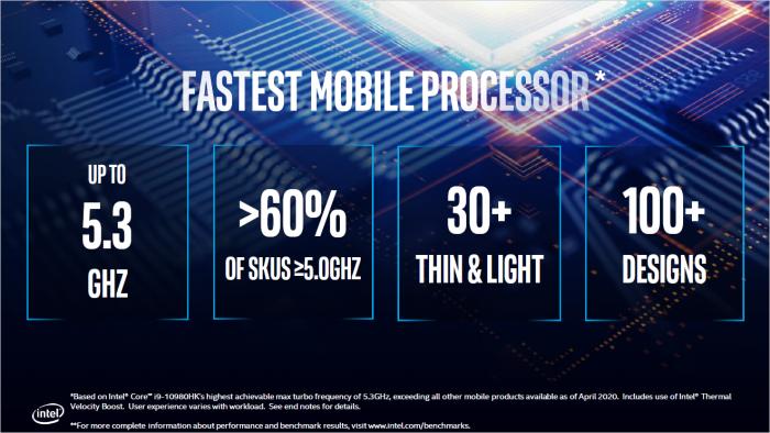 Der schnellste Notebook-Prozessor * (Bild: Intel)