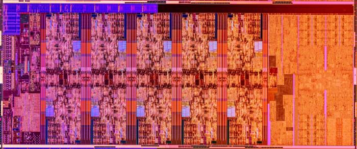 Die-Shot eines CML-S mit 10C (Bild: Intel)