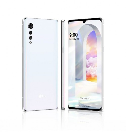 Das Velvet von LG hat ein 6,8 Zoll großes Display. (Bild: LG)