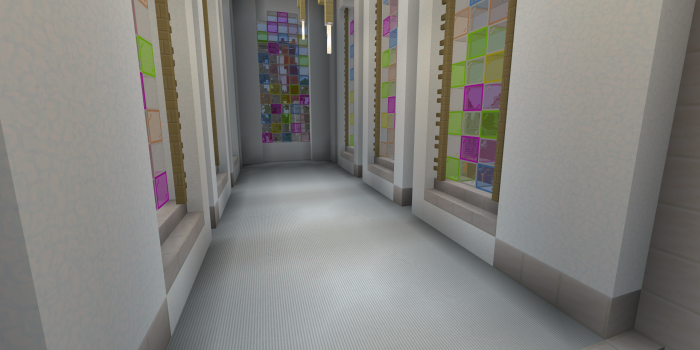 Minecraft mit regulärer Optik (Rechteinhaber: Mojang, Screenshot: Golem.de)