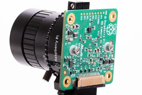 High Quality Camera (Bild: Raspberry Foundation)