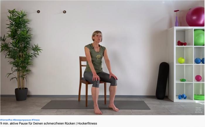 Das Angebot an kostenlosen Videos ist riesig. Hier eine Auswahl von fachlich kompetenten Anbietern, die auf Rückenprobleme zugeschnittene Übungen anbieten. Zum Beispiel Gabi Fastner: Sie bietet seit neun Jahren auf ihrem Youtube-Kanal wöchentlich neue Übungen und Workouts. Mittlerweile hat die staatlich geprüfte Gymnastiklehrerin mehr als 1.000 Videos veröffentlicht. (Bild: Youtube/Screenshot: Golem.de)