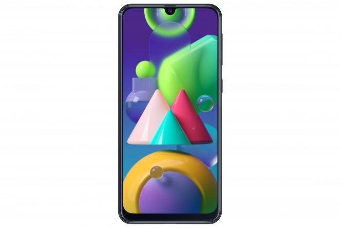 Das Galaxy M21 von Samsung hat ein 6,4 Zoll großes Display. (Bild: Samsung)
