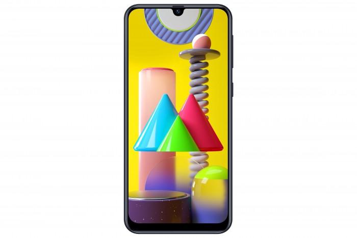 Das Galaxy M31 von Samsung hat einen 6,4 Zoll großen Bildschirm. (Bild: Samsung)