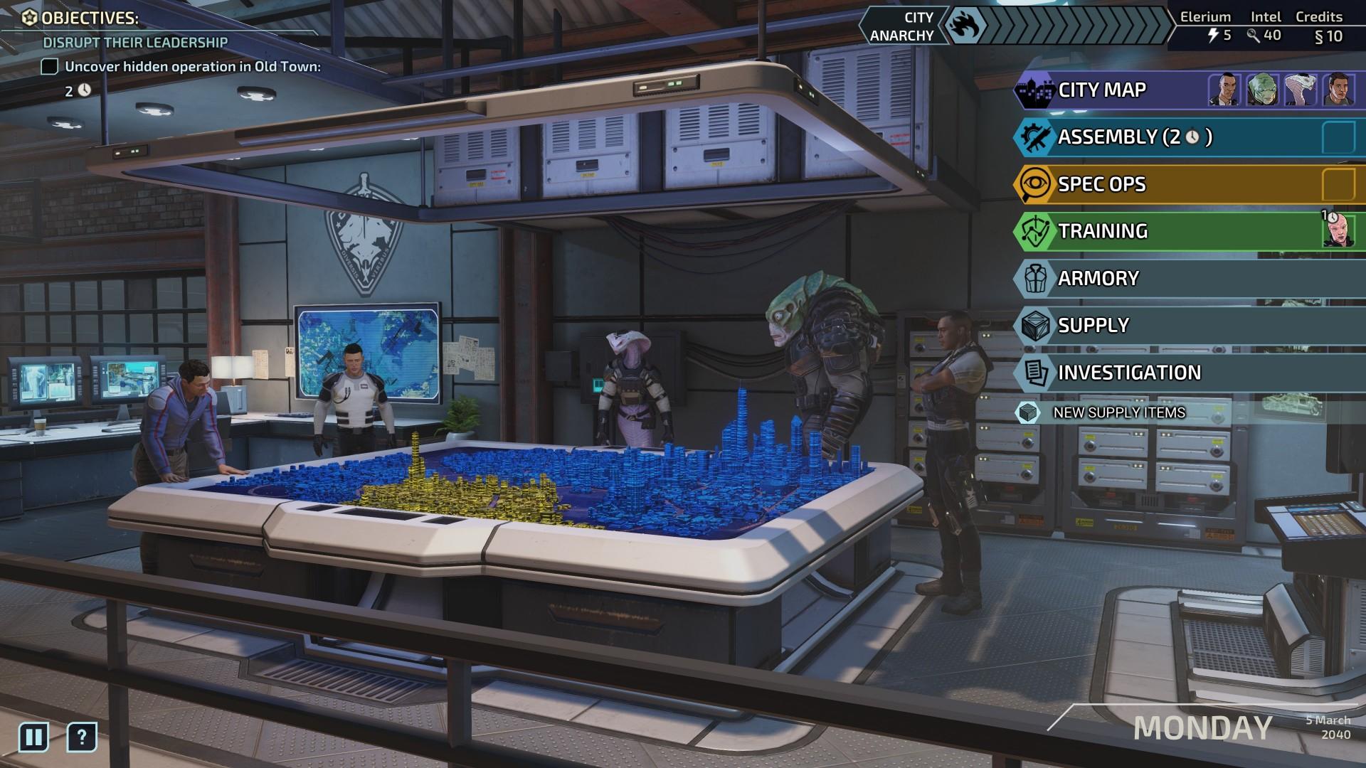 Chimera Squad: Addon für Strategiespiel Xcom angekündigt - Artwork von Xcom Chimera Squad (Bild: 2K Games)
