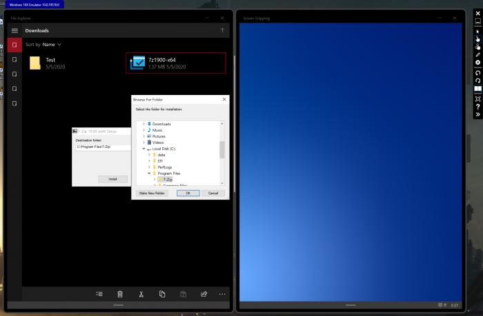 Hinter dem simplen Dateisystem steckt sichtlich Windows 10. (Bild: Microsoft/Screenshot: Golem.de)