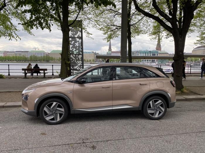 Der Hyundai Nexo mit Brennstoffzelle. (Bild: Dirk Kunde)