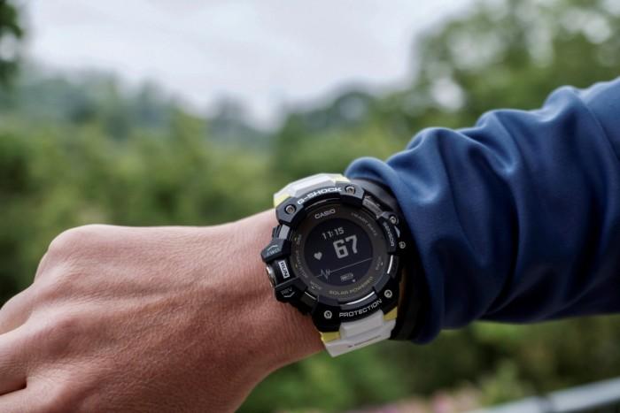 Die Pulsmessung der G-Shock erfolgt direkt am Handgelenk. (Foto: Golem.de/K. Höhne)