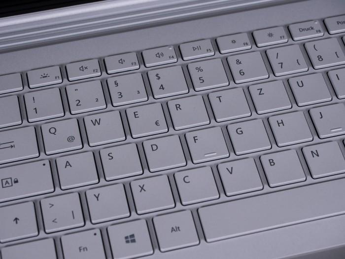 Sehr gute Tastatur (Bild: Martin Wolf/Golem.de)