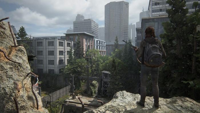 Hauptfigur Ellie allein in Seattle. (Bild: Sony)