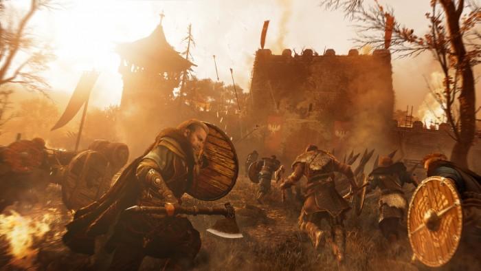 Artwork von Assassin's Creed Valhalla (Bild: Ubisoft)