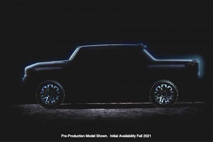 Elektro-Hummer als Pick-Up (Bild: GM)