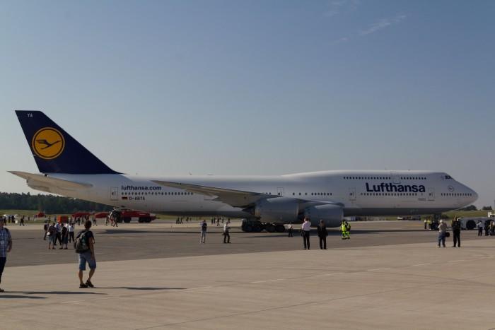 Die Giganten der Lüfte: die Boeing 747 ... (Bild: Werner Pluta/Golem.de)