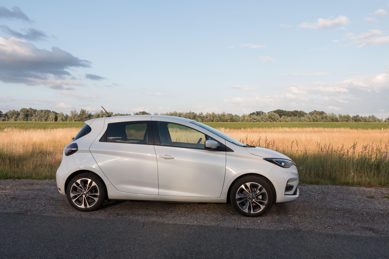 Renault Zoe: Ganz entspannt von Meer zu Meer - Der Kleinwagen Renault Zoe... (Bild: Werner Pluta/Golem.de)