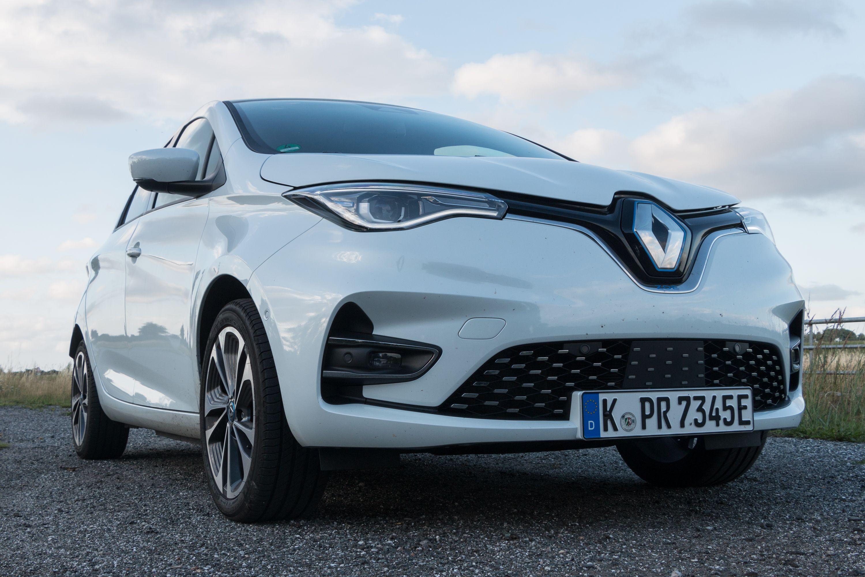 Renault Zoe: Ganz entspannt von Meer zu Meer - Wir sind das Mdoell Z.E. 50 Intens R135 gefahren. (Bild: Werner Pluta/Golem.de)