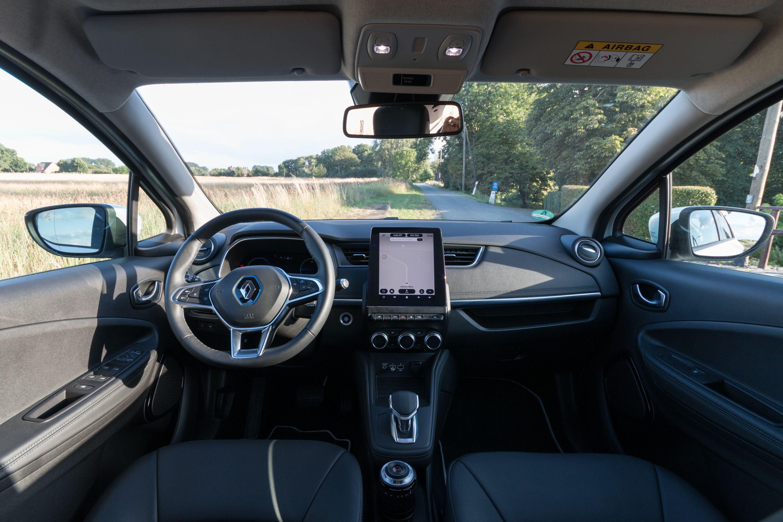 Renault Zoe: Ganz entspannt von Meer zu Meer - Blick ins Innere (Bild: Werner Pluta/Golem.de)