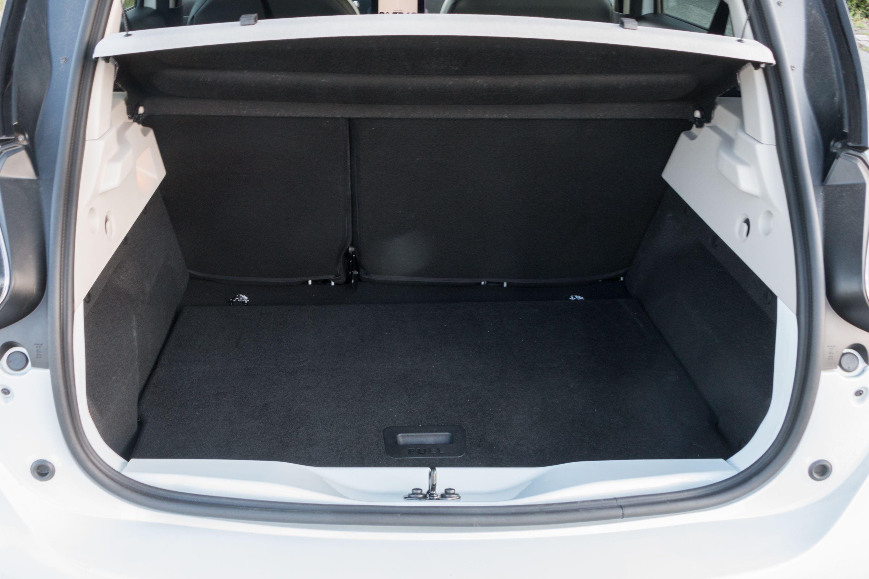 Renault Zoe: Ganz entspannt von Meer zu Meer - Im Kofferraum... (Bild: Werner Pluta/Golem.de)