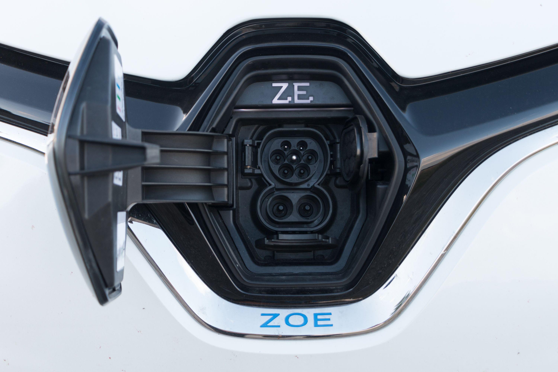 Renault Zoe: Ganz entspannt von Meer zu Meer - ... und CCS. (Bild: Werner Pluta/Golem.de)
