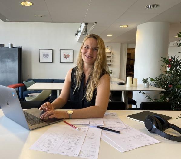 Auch Kirsten Siekmann ist UX-Designerin. Ein Beruf, der derzeit sehr gefragt ist. (Bild: privat)