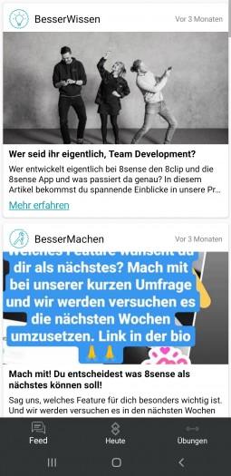 Der Newsfeed wurde seit drei Monaten nicht aktualisiert. (Bild: Oliver Nickel/Golem.de)