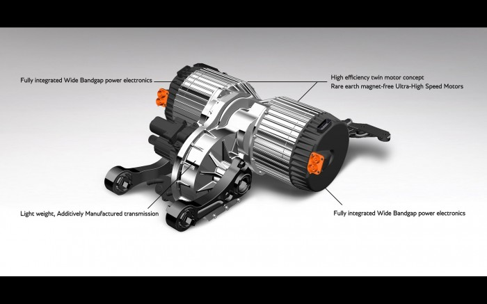 E-Antriebssystem (Bild: Bentley)
