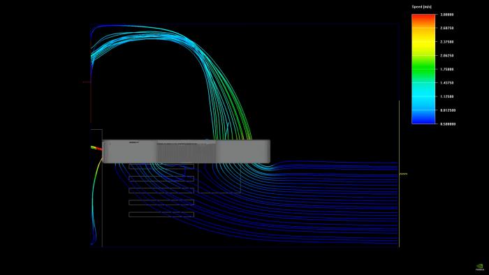 Kühlprinzip der Geforce RTX 3090 Founder's Edition (Bild: Nvidia)