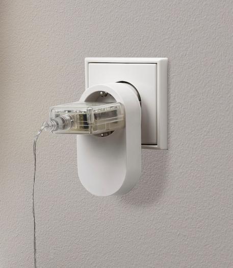 Trådfri Steckdose - nicht in Deutschland erhältlich (Bild: Ikea)