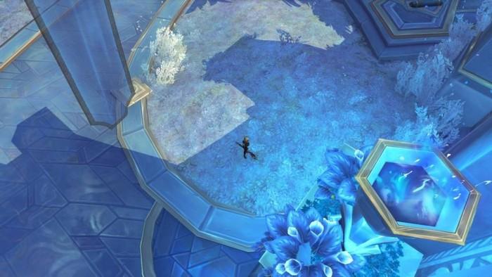 WoW Shadowlands ohne Raytracing-Schatten (Bild: Blizzard)