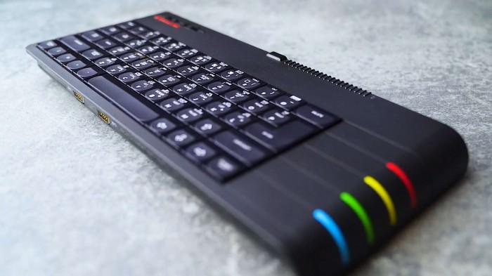 Der neue ZX Spectrum Next (Bild: Henrique Olifiers/Screenshot: Golem..de)
