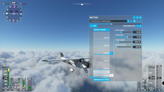 Allein mit dem perfekten Himmel kann man sich minutenlang beschäftigen ... (Screenshot: Golem.de)