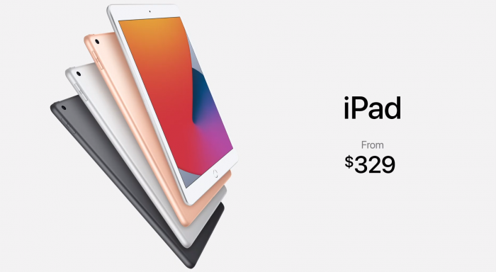 Neues iPad (Bild: Apple/ Screenshot: Golem.de)