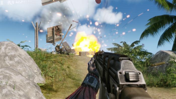 Impressionen aus Crysis Remastered  (Rechteinhaber: Crytek, Screenshot: Golem.de)