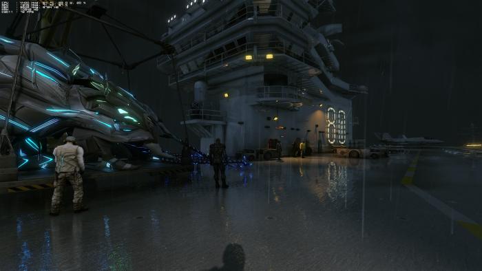 Raytracing wird bei Glas und Metall eingesetzt. (Rechteinhaber: Crytek, Screenshot: Golem.de)